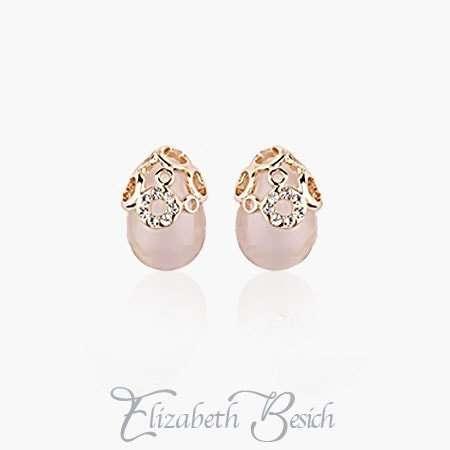 Elegant Opal Earrings by Elizabeth Besich